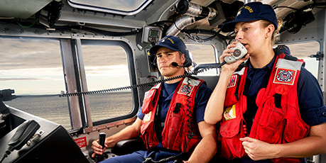 Receive Pay & Benefits as a Coast Guard Member
